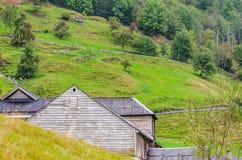 Гористая местность Норвегии стоковые фотографии rf