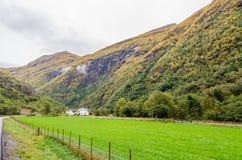 Гористая местность Норвегии стоковая фотография rf