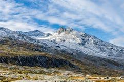 Гористая местность Норвегии стоковые изображения rf