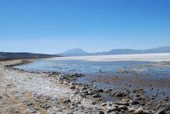 гористая местность Перу Стоковое Изображение