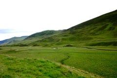 гористая местность Шотландия Стоковое Изображение RF