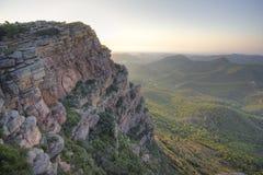 гористое ландшафта среднеземноморское стоковое изображение
