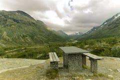 Гористые местности в Норвегии Стоковое фото RF