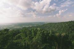 Гористые местности в haiyai стоковое фото