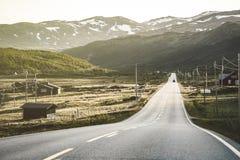 гористые местности норвежские Стоковое Изображение