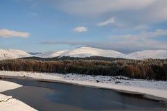 гористые местности Шотландия Стоковая Фотография