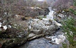гористые местности Шотландия Стоковое Изображение