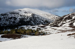 гористые местности Шотландия Стоковые Фотографии RF