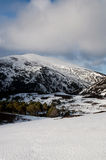гористые местности Шотландия Стоковое Изображение RF