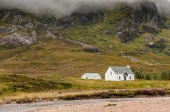Гористые местности Шотландия Glencoe Стоковая Фотография RF