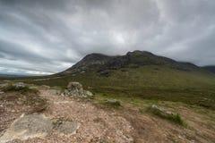 Гористые местности Шотландия Scotish, Великобритания стоковые фотографии rf