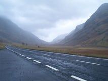гористые местности шотландские Стоковое Изображение