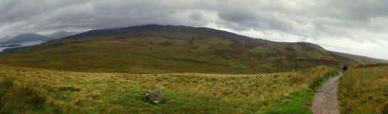 Гористые местности Шотландии Стоковая Фотография RF
