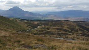 гористые местности Шотландия Стоковая Фотография RF