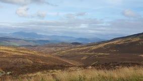 гористые местности Шотландия Стоковое фото RF