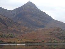 гористые местности шотландские стоковая фотография
