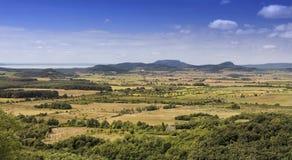 Гористые местности Balaton Стоковые Изображения RF