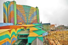 Гористые местности Genting мира гостиницы первые @ стоковое изображение rf