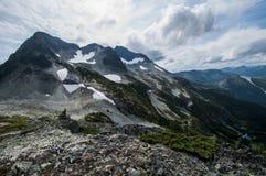 Гористый ландшафт, Канада Стоковая Фотография