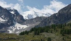 Горная вершина Grüm Стоковая Фотография