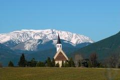Горная вершина Schneeberg в Австрии Стоковое Изображение RF