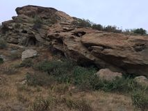Горная порода Калифорнии Стоковое Фото