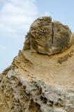 Горная порода на Yehliu Geopark Стоковое Изображение RF
