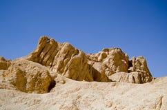 Горная порода, долина ферзей, Египет Стоковые Изображения RF