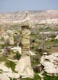 Горная порода долины влюбленности Cappadocia в Турции Стоковое фото RF