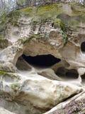 Горная порода песчаника с фантастическими формами Стоковая Фотография RF