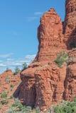 Горная порода Sedona стоковое фото