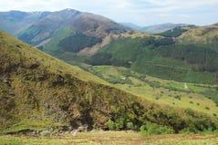 Горная тропа Бен Невиса в Шотландии Стоковое Изображение RF