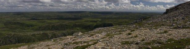 Горная тропа Gros Morne Стоковое фото RF