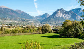 Горная цепь в Италии Стоковая Фотография RF