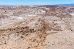 Горная цепь Кордильеры de Ла Соль соли, San Pedro de Atacama, Чили стоковые фотографии rf