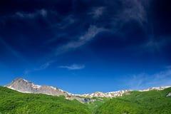 горная цепь македонии Стоковая Фотография