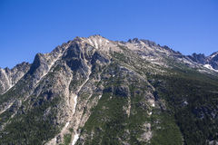 Горная цепь на северном национальном парке каскадов Стоковая Фотография RF