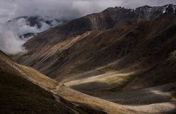 Горная цепь на Leh Ladakh Стоковое фото RF