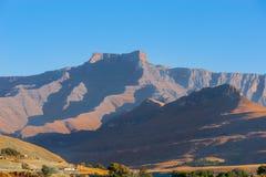 Горная цепь Drakensberg стоковая фотография