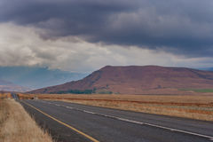 Горная цепь Drakensberg стоковое изображение