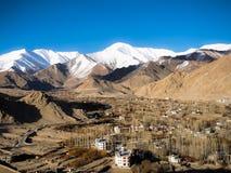 горная цепь leh ladakh Индии Стоковые Фотографии RF
