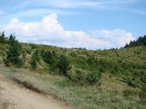 Горная цепь Marmaros украинских Карпатов около городка Rakhiv закарпатской зоны Украина 08 Стоковые Фотографии RF
