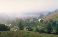горное село Стоковые Фото