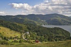 горное село стоковые изображения