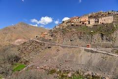 Горное село Марокко Стоковое Изображение