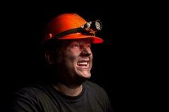 Горнорабочая угля Стоковые Фото