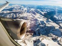 Горные вершины в Австрии Стоковые Фото