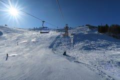 Горные вершины Италия Dolomti Стоковое Фото