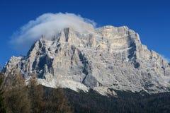 Горные вершины Италия Dolomti Стоковые Изображения