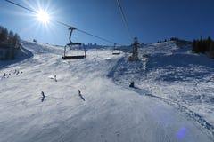 Горные вершины Италия Dolomti Стоковое Изображение
